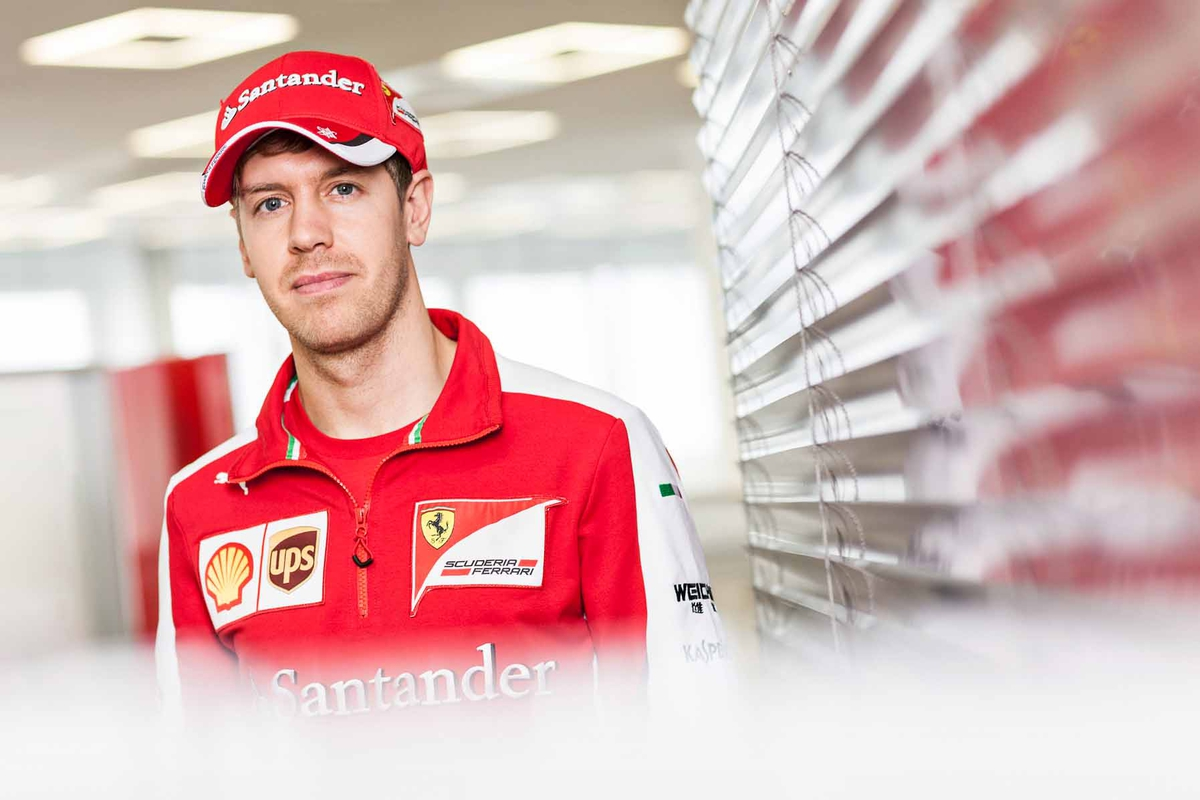 Sebastian Vettel for Santander Bank