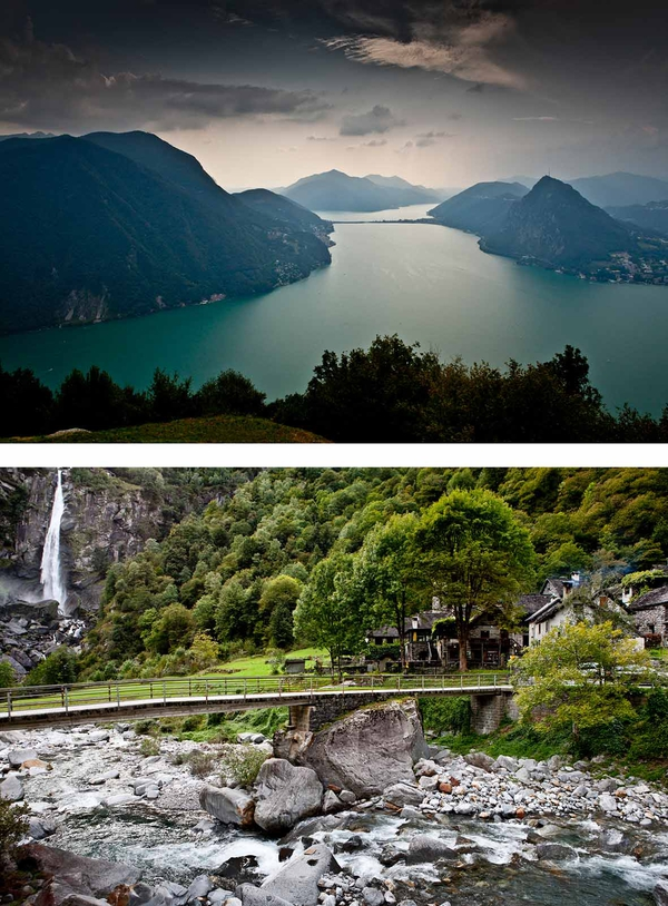 Ticino for Conde Nast Traveller